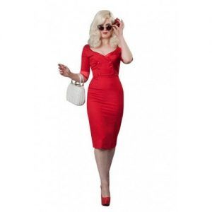 Shirt Dress red dita von teese pinup dress by Glamour Bunny-500x500