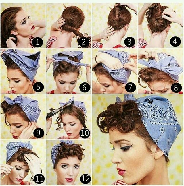 ideas de peinados pin up - Peinados Pin Up
