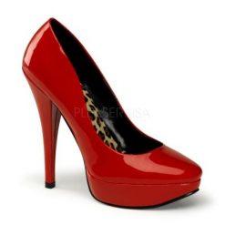 Zapato estilo retro de charol