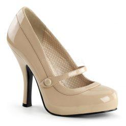 Zapato Pinup de linea retro con correa en empeine