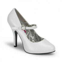 Zapato clasico tacon aguja hebilla