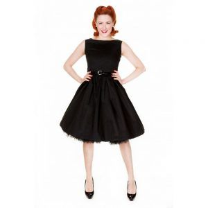 foto vestido pin up negro