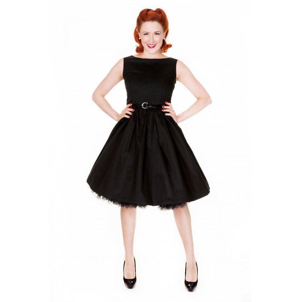 foto vestido pin up negro
