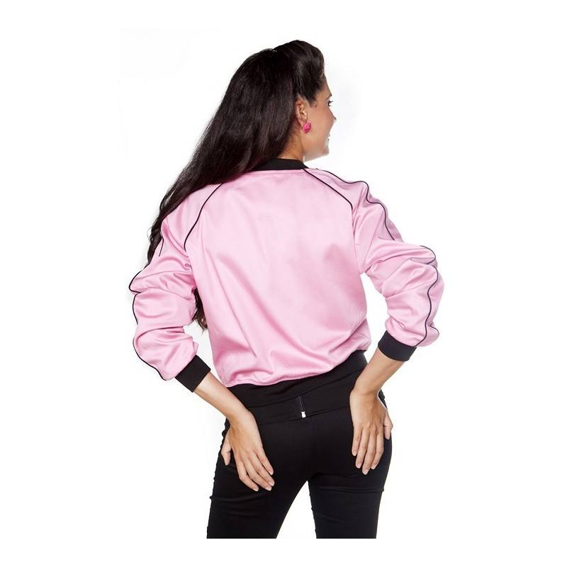 Chaqueta Grease Rosa-moda pin up