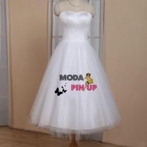 Vestido de novia rockabilly