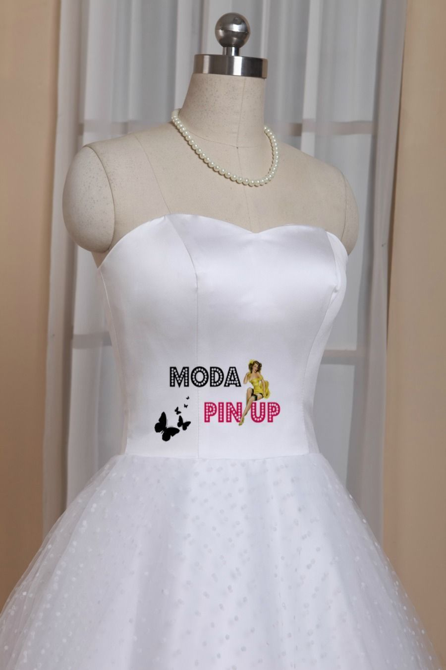 Vestido de novia rockabilly - Moda Pin Up