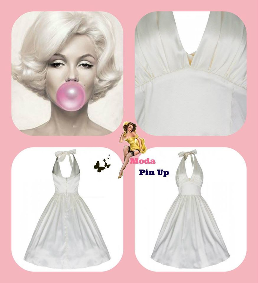 Vestido Marilyn Monroe.-moda pin up