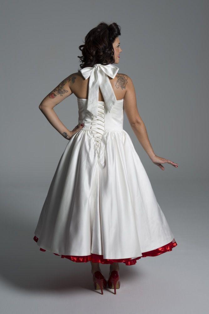 vestido de novia estilo marilyn oferta muestrario talla 36-38 - moda