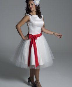 Vestido novia Pinup
