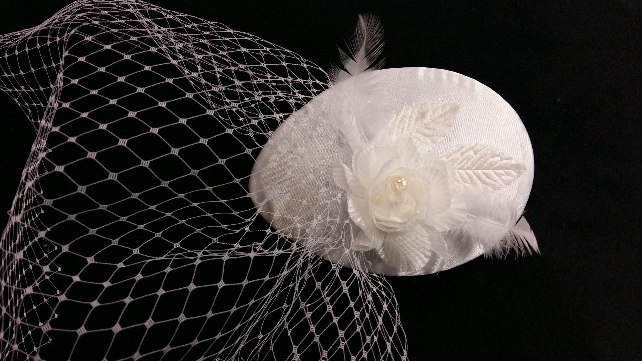 tocado novia años 50