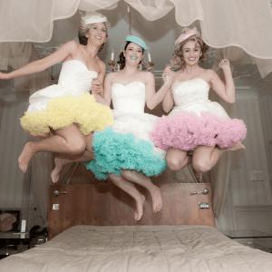 Cancan-faldas espectaculares