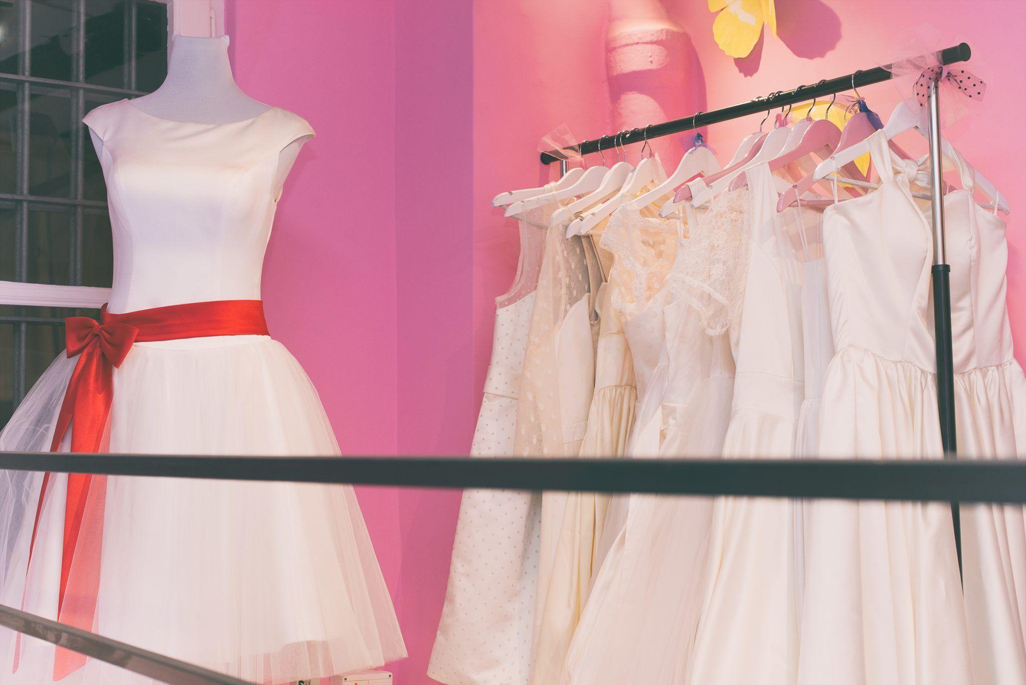Vestidos de novia estilo años 50