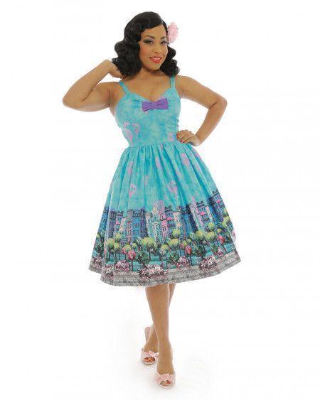 vestido swing