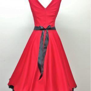 vestido vuelo años 50