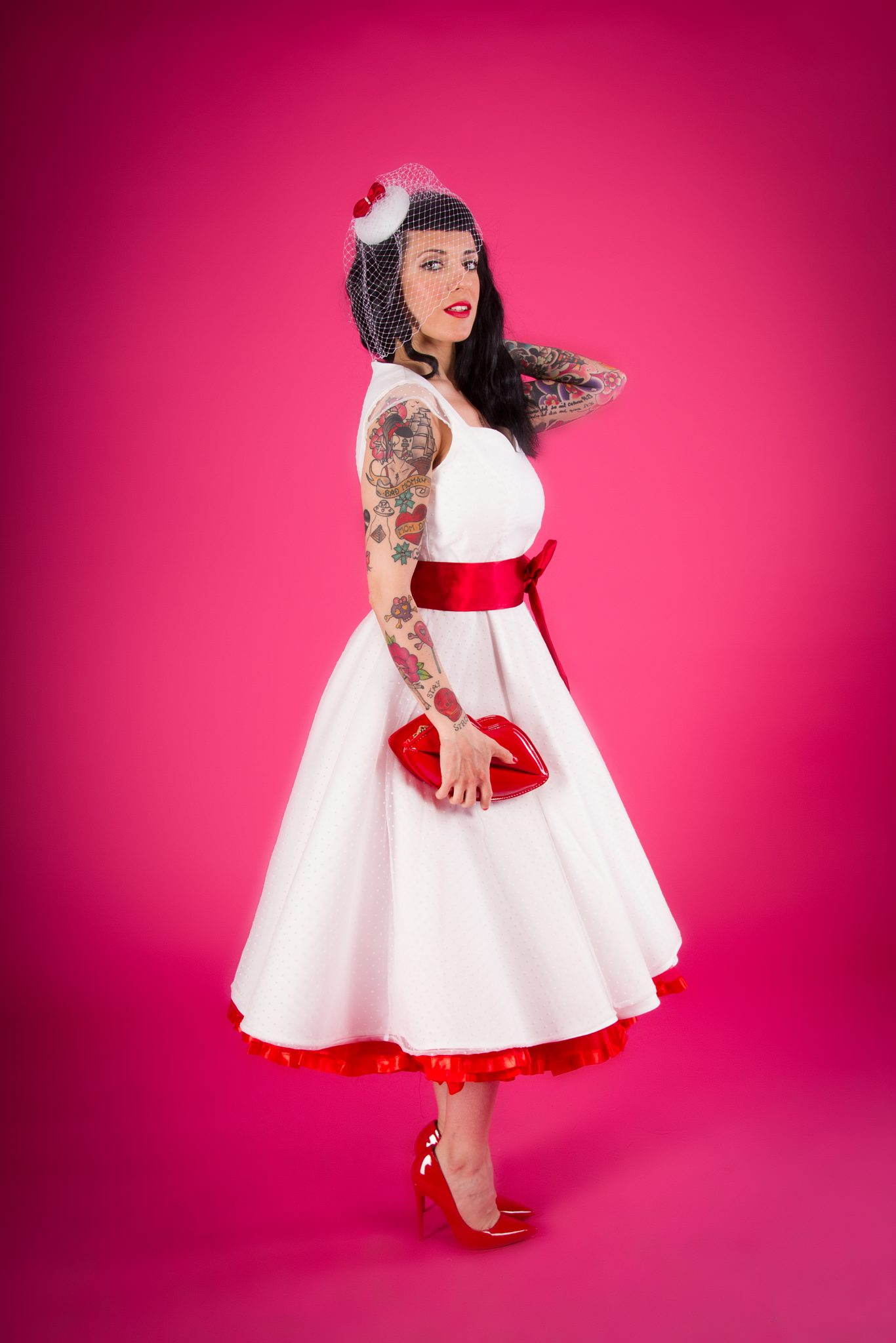 Contemporáneo Pin Up Vestidos De Novia Inspirados Componente - Ideas ...