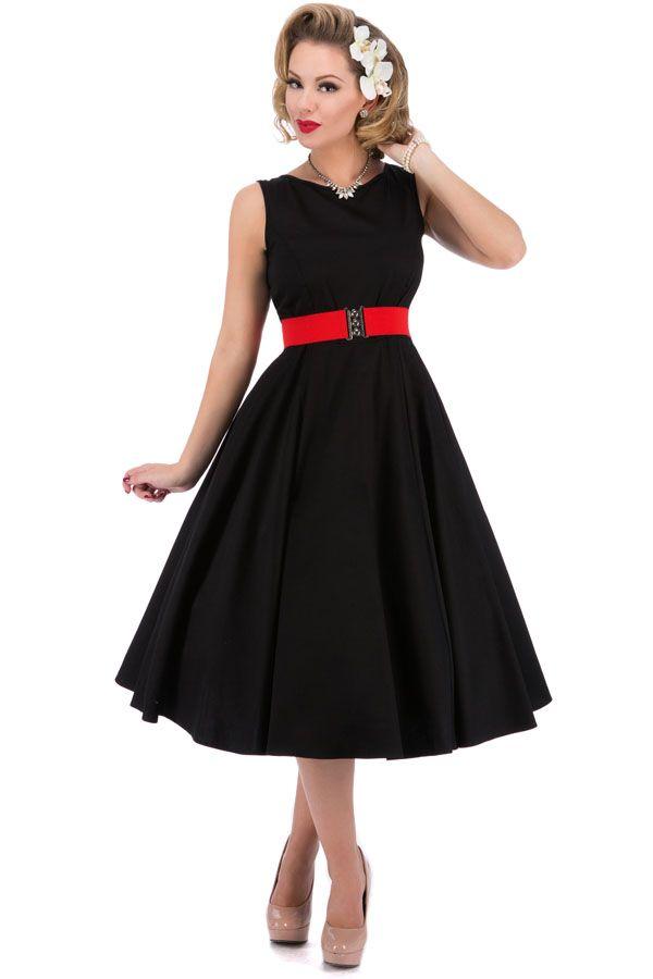 Vestido Vuelo Años 50 Corte Audrey Hepburn