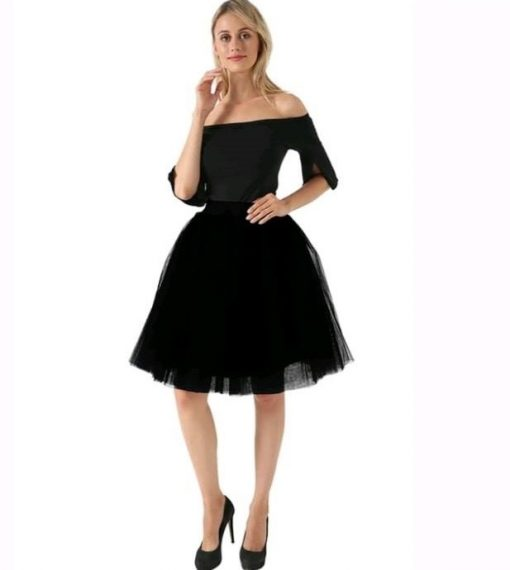 falda-tul-negra
