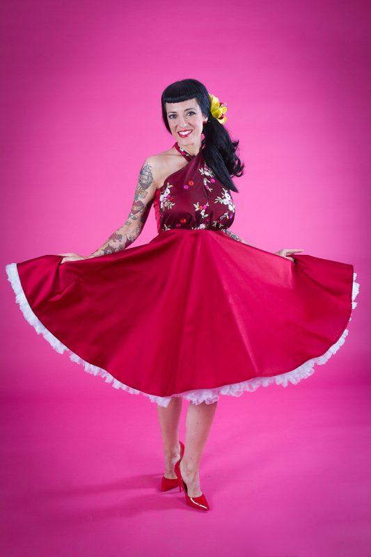 vestido de fiesta de confeccion Barcelona