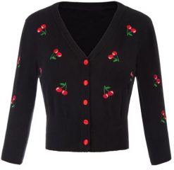 cardigan cerezas