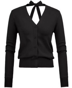 Chaqueta pin up negra