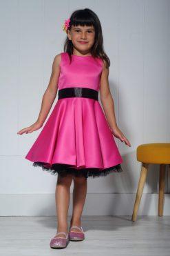 Vestido de niña Pin Up estilo años 50