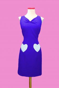 vestido ajustado estilo pinup