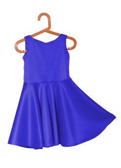 vestido fiesta niña azul